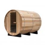 2,4 meter - Saml selv sauna Ceder træ